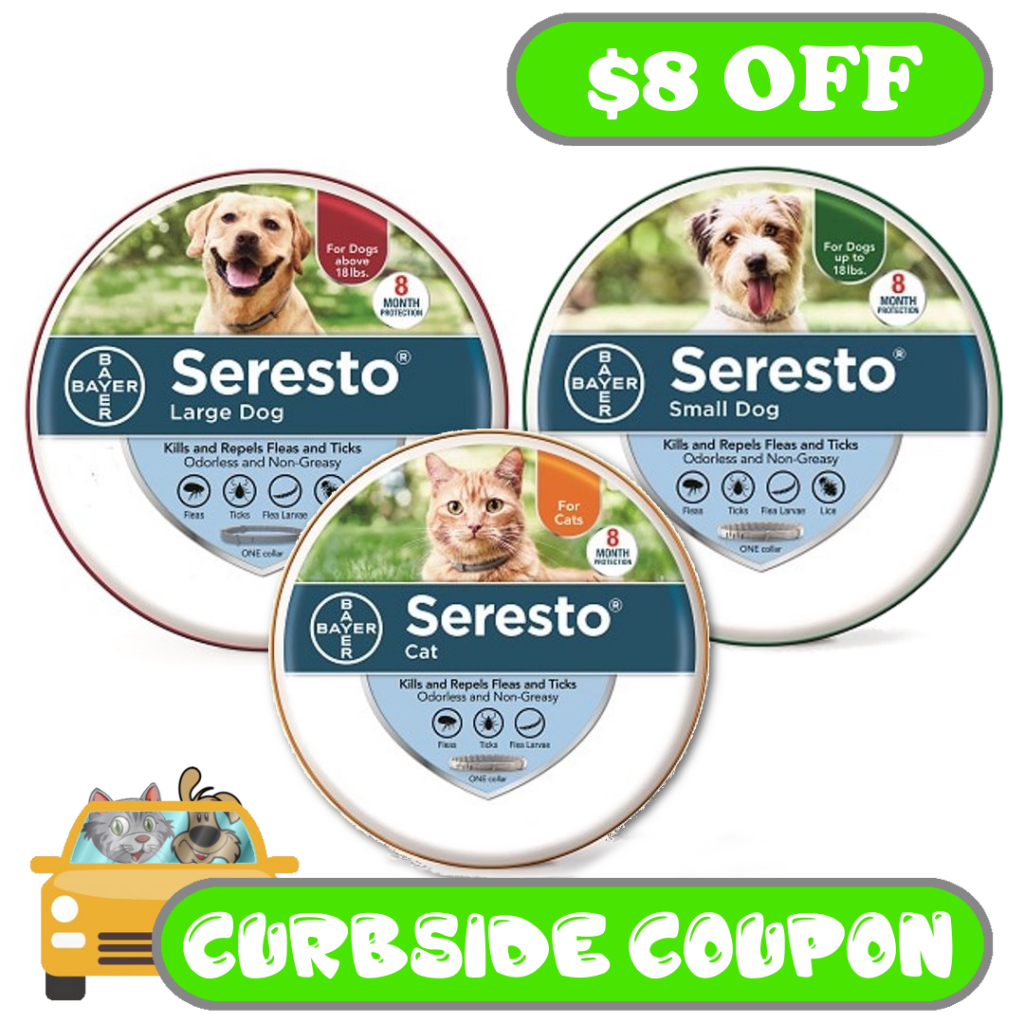 Seresto Curbside Coupon