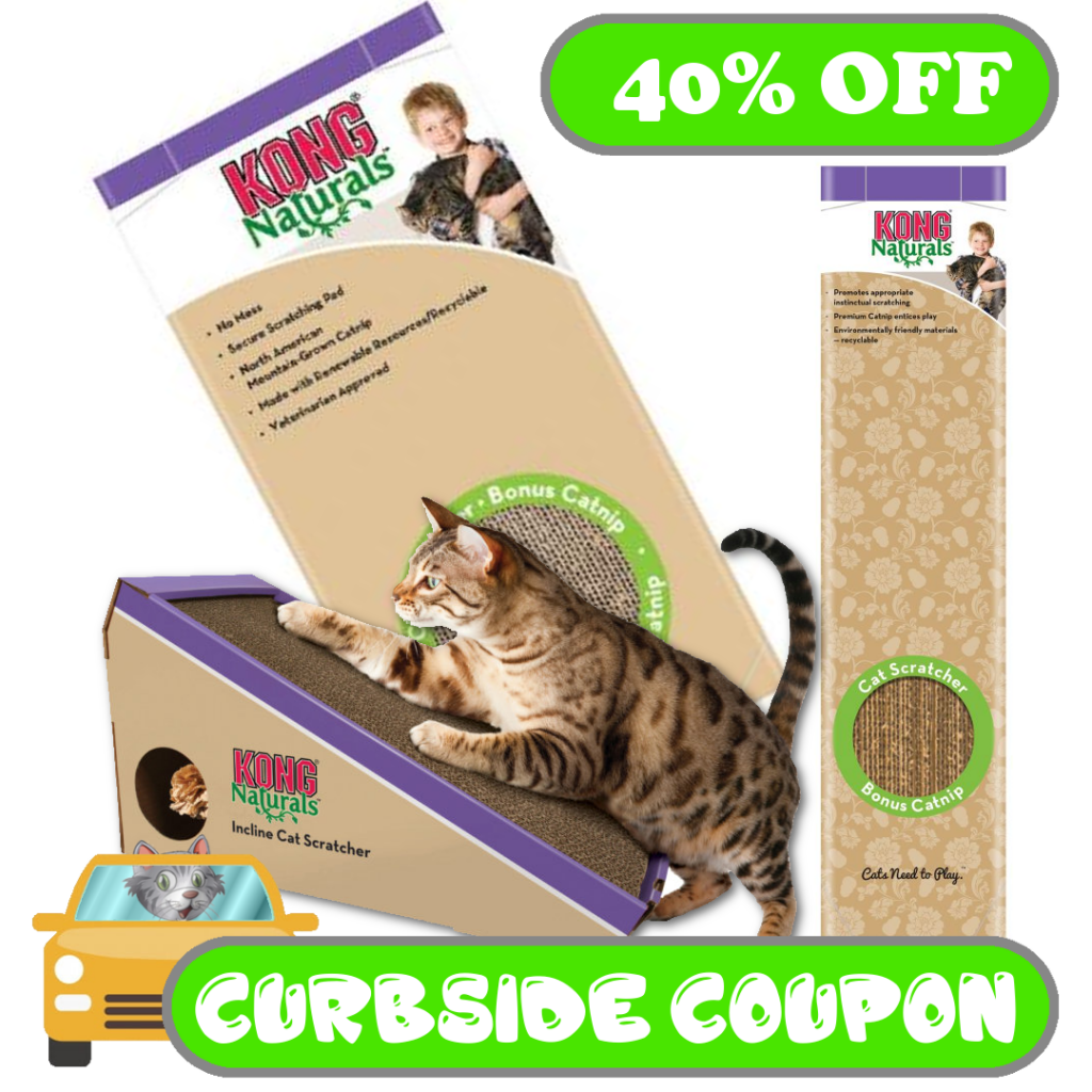 Kong Scratcher Curbside Coupon